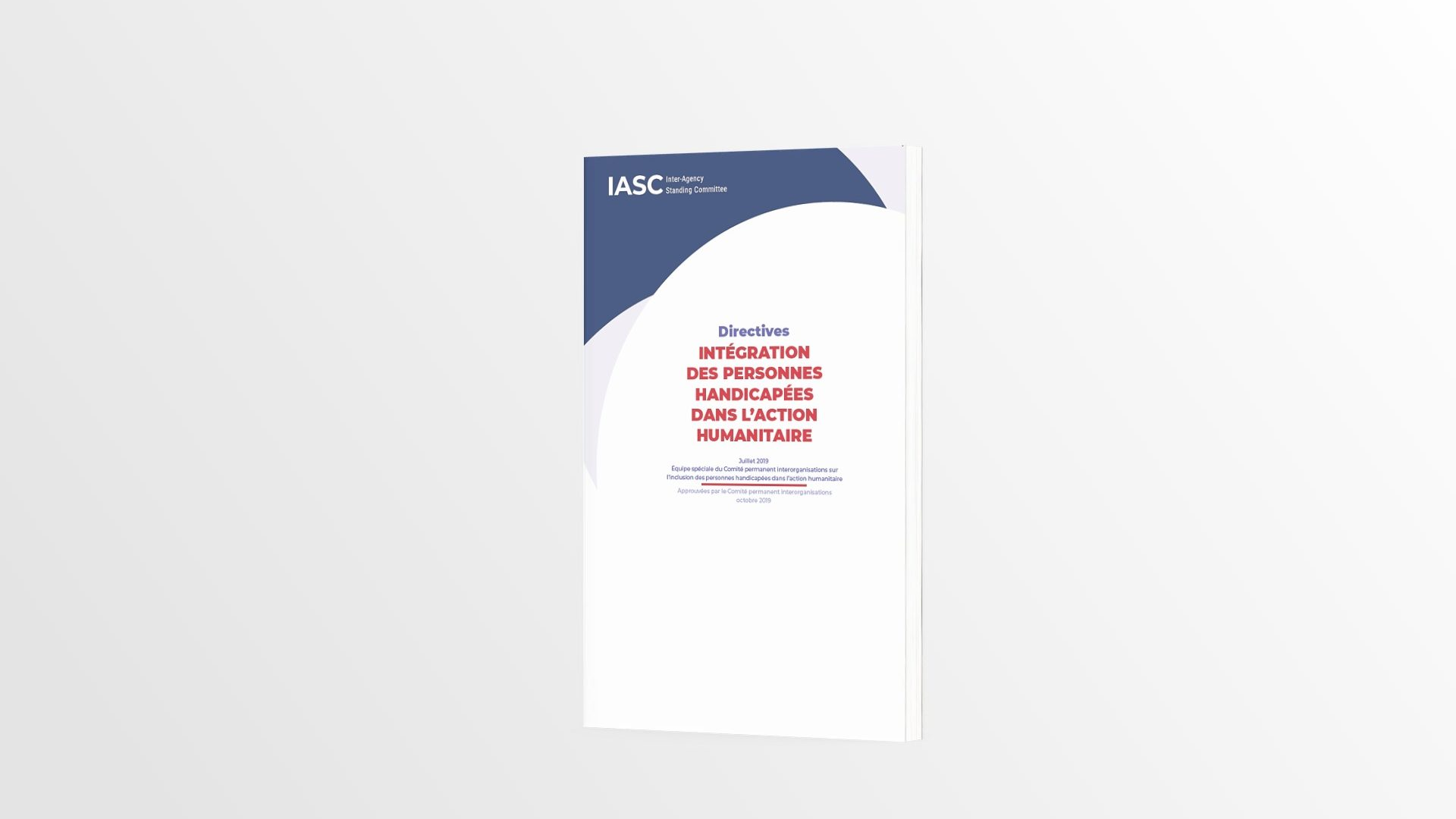 Cover of the French IASC Guidelines