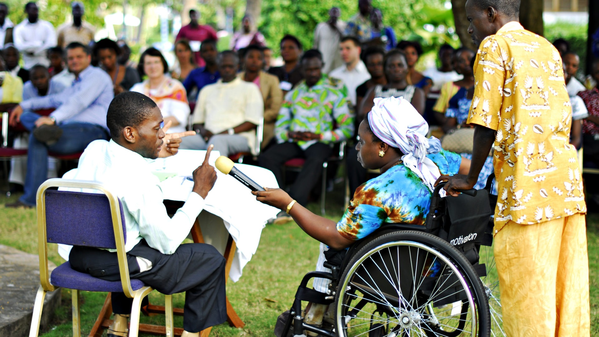 View event: Meaningful Participation of Persons with Disabilities in Humanitarian Action